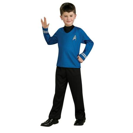 Star Trek Boys Spock Halloween Costume](Woman Spock Halloween Costume)