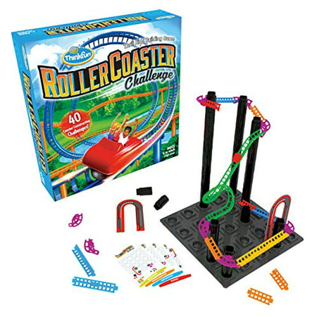 Think Fun Roller Coaster Challenge STEM Toy Building Game Boys Girls Age 6 Up ? Toty Game The Year Finalist
