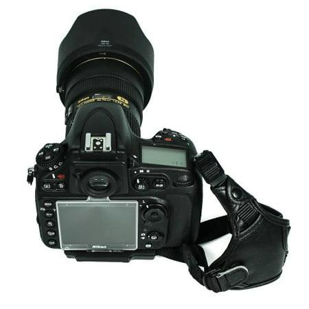 Canon Hand Strap - Foto&Tech Professional 100% GENUINE LEATHER Hand Wrist Strap Grip for Canon EOS 5D Mark IV, 1D X, EOS 6D, 7D, EOS 80D, 70D, 60Da, 60D, EOS 5D Mark III, EOS 5D Mark II, SL1, T5i T4i T3i T2i T1i