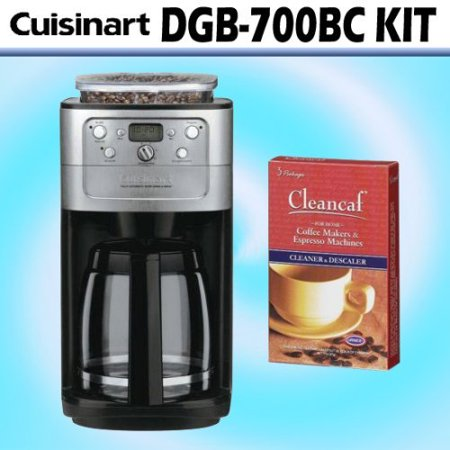 Cuisinart DGB-700BC Grind & Brew 12-cup Automatic Coffeemaker W/ Decalcifier