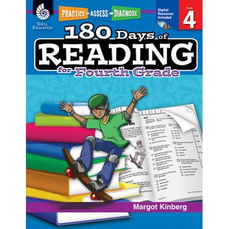 180 Days of Reading for Fourth Grade (Grade 4) : Practice, Assess,