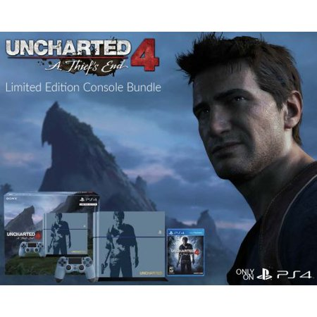 Playstation 4 Limited Edition Uncharted 4 Console Bundle  Ps4