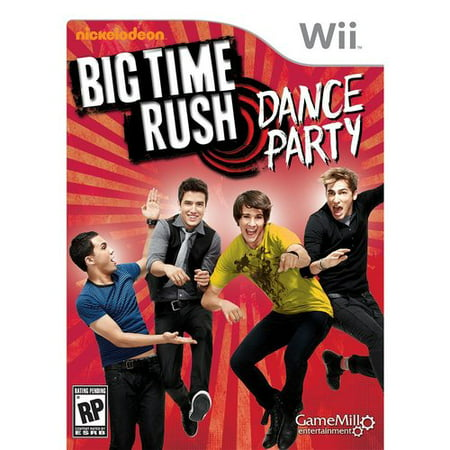 Big Time Rush, Game Mill, Nintendo Wii, - Big Time Rush Halloween Big Night