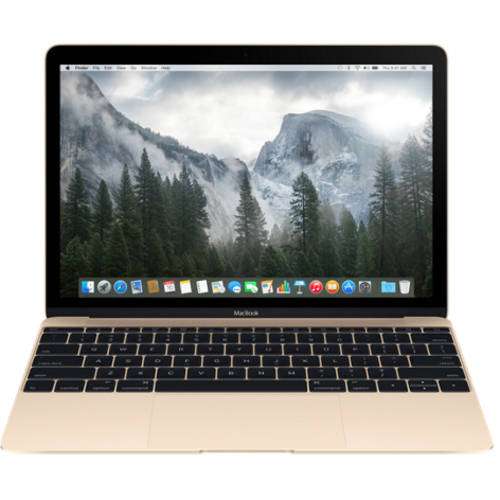 "Refurbished Apple 12"" MacBook with Intel Core M Processor, 8GB Memory, 256GB Flash Storage and Mac OS X El Capitan"
