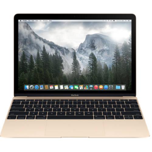 "Refurbished Apple 12"" MacBook with Intel Core M Processor, 8GB Memory, 256GB Flash Storage and Mac OS X El Capitan"