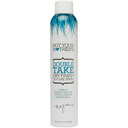 Not Your Mother's Double Take Dry Finish Texture Spray 6 oz (Pack of - Dry Finish