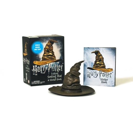 Harry Potter Talking Sorting Hat And Sticker Book  Which House Are You
