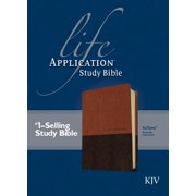 KJV Life Application Study Bible, Second Edition, TuTone (Red Letter, LeatherLike, Brown/Tan)