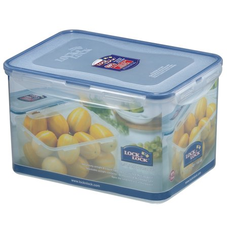 Lock & Lock Easy Essentials Pantry Rectangular Food Storage Container, 18.8-Cup