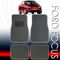 QULAITY UNIVERSAL CARPET CAR FLOOR MATS SET FOR FORD FOCUS WITH BOUNS 24 DISCS CAPACITY CD WALLET