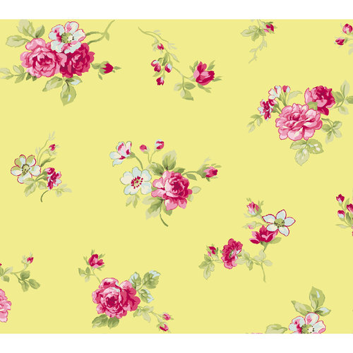Small Floral Bouquet Fabric
