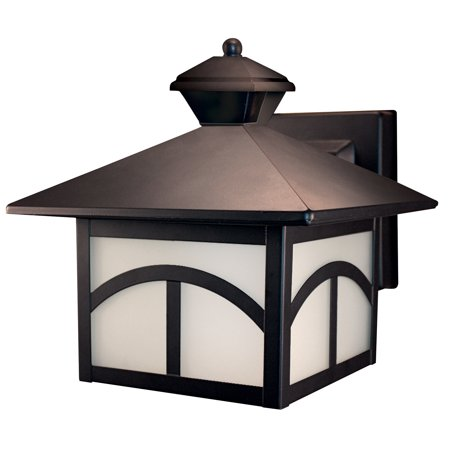 Heathco HZ-4110-OR Oil Rubbed Bronze Motion Detection Outdoor Light (Outdoor Oil)