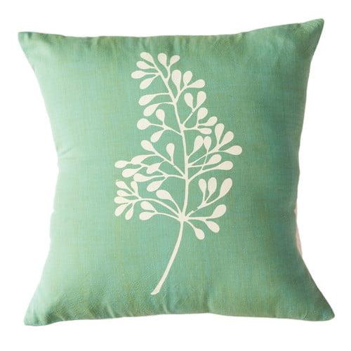 Sustainable Threads Botanical Cotton Throw Pillow