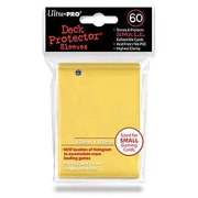 Ultra Pro Small Size Yellow Deck Protector