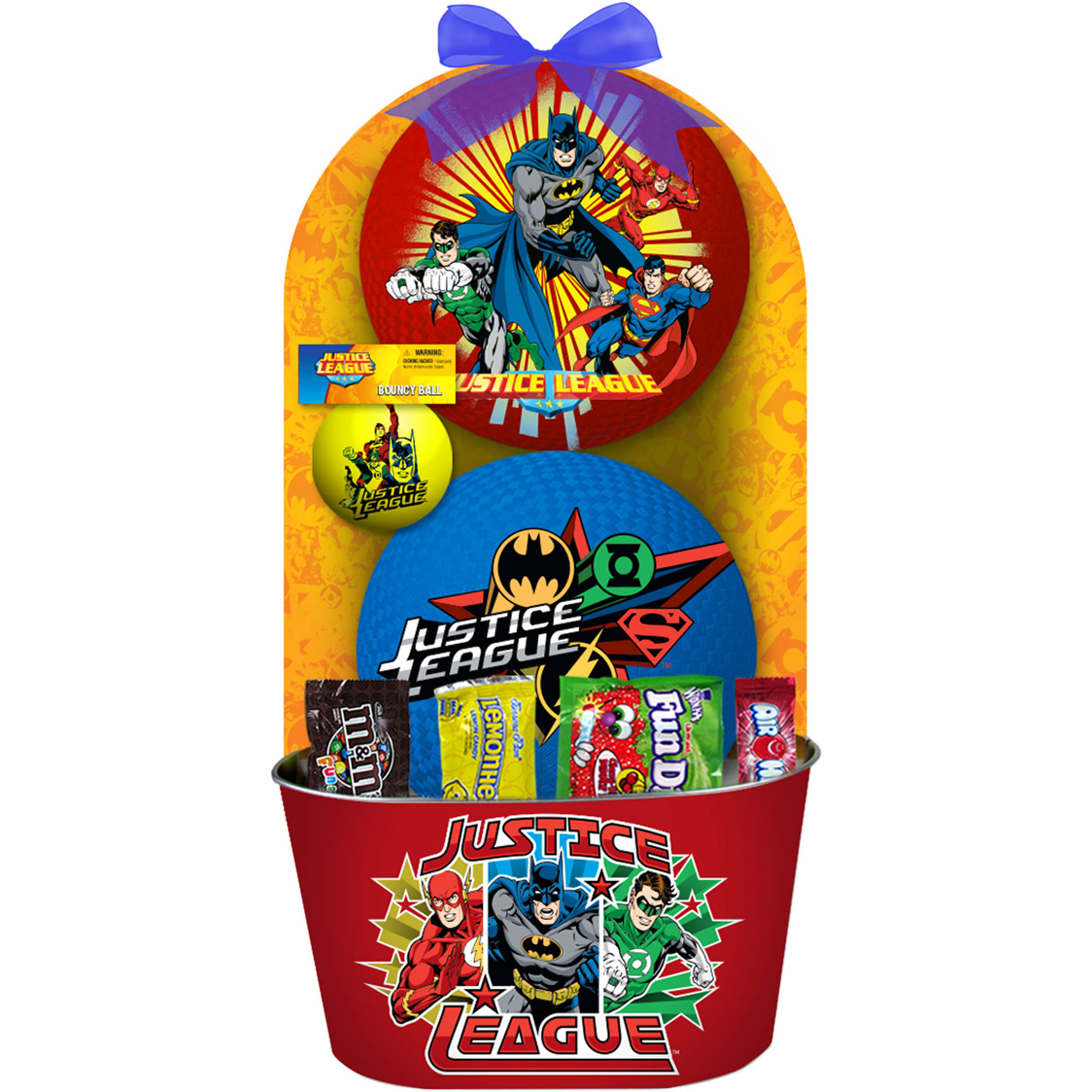 Justice league easter basket 7 pc walmart negle Choice Image