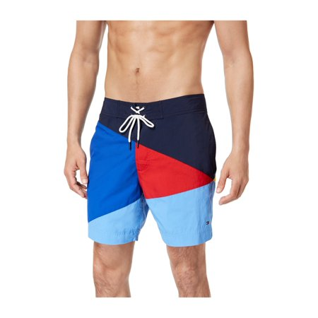 fdd1235a27d3e Tommy Hilfiger Mens Searay Colorblocked Swim Bottom Trunks regatta 2XL -  image 1 of 1 ...