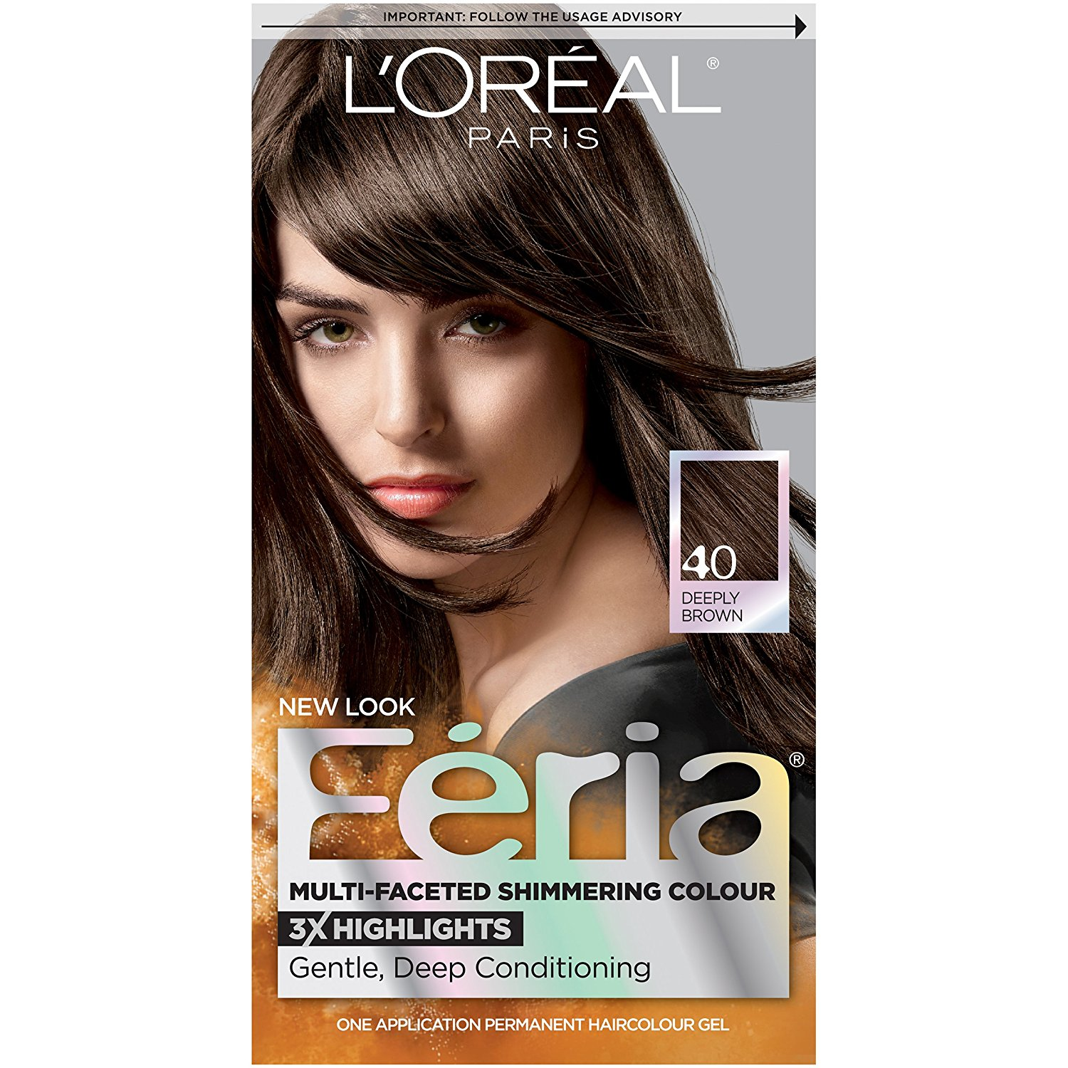 Feria Multi Faceted Shimmering Color 40 Espresso Deeply Brown