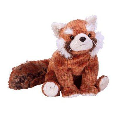 Ty Beanie Baby   Rusty The Red Panda
