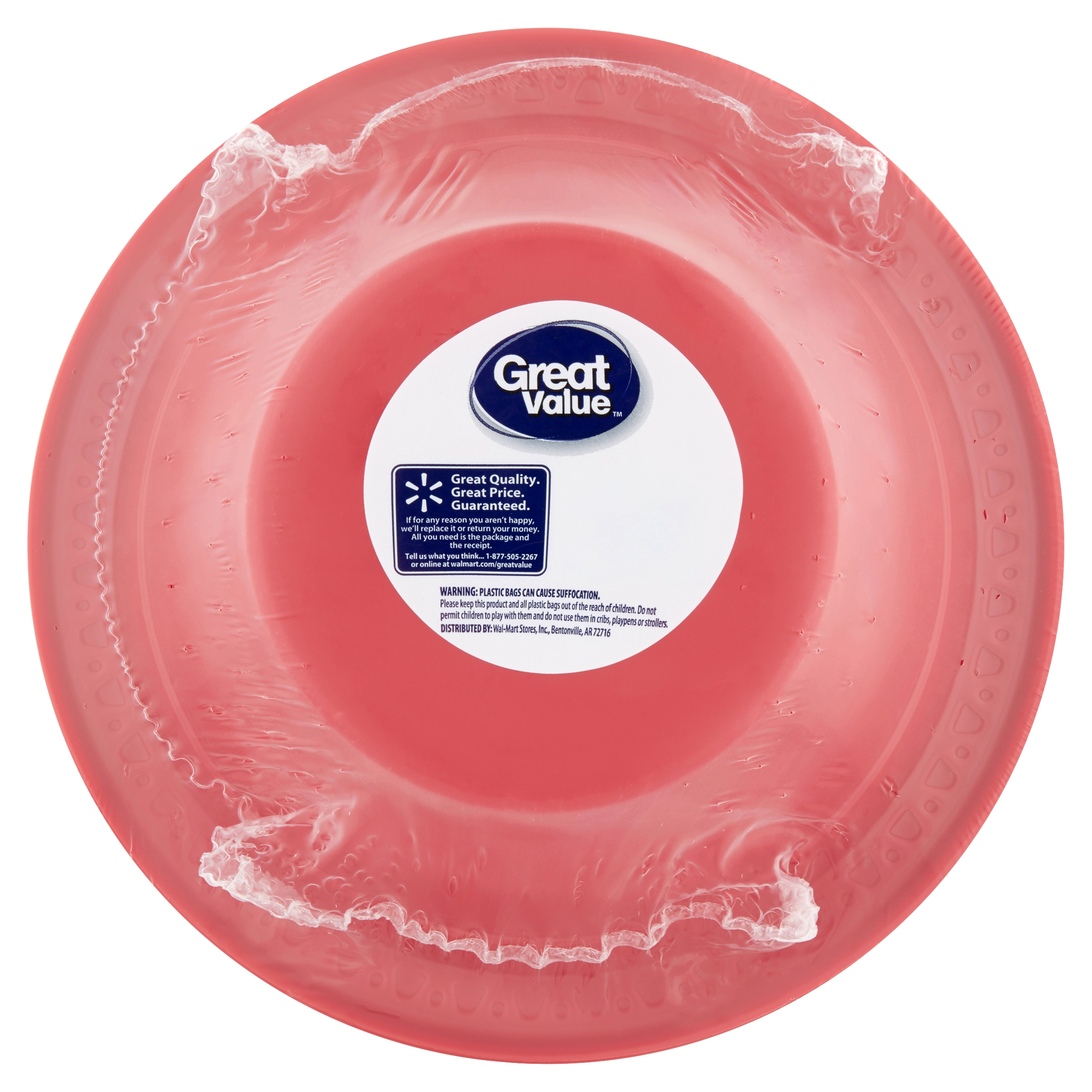 Great Value Plastic Bowls, 20 oz, 28 Count