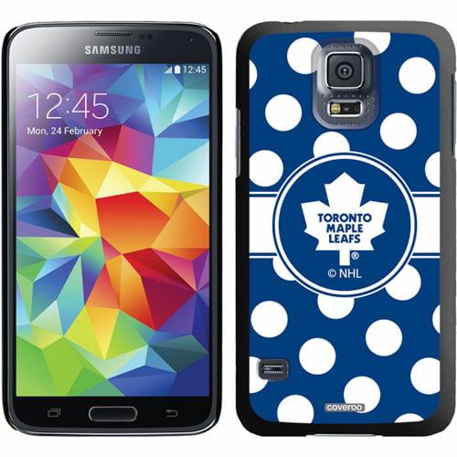 Toronto Maple Leafs Galaxy S5 Polka Dot Thin-Shield Case - No Size