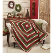 Herrschners Colors of Christmas Crochet Afghan Kit