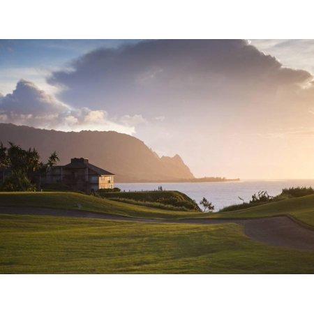 Makai Golf Course, Kauai, Hawaii, USA Print Wall Art By Micah Wright