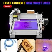 2 Axis 2 Phase 4 Wire 500mw Laser Engraving Machine USB Laser Engraving Marking Machine Paper Wood Cutter DIY Printer Engraver