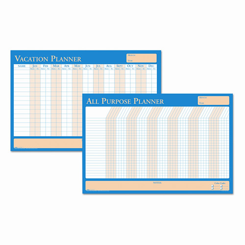 HOUSE OF DOOLITTLE                                 House of Doolittle All-Purpose/Vacation Plan-A-Board Wall Mounted Calendar Board