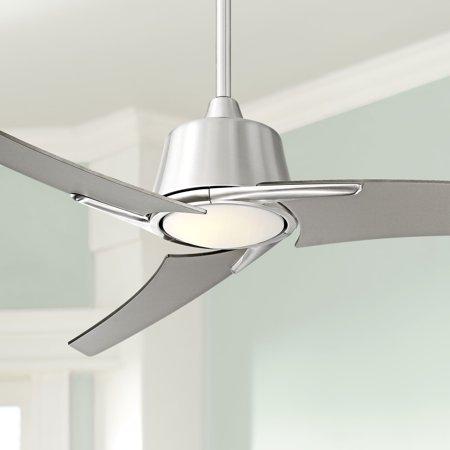 48 Quot Casa Vieja 174 Matrix Led Brushed Nickel Ceiling Fan