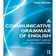 A Communicative Grammar of English - eBook