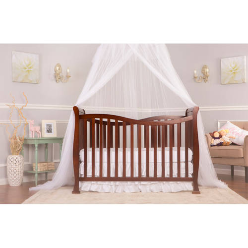 Dream On Me Violet 7-in-1 Convertible Life Style Crib, Espresso