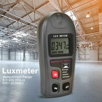 EOTVIA Illuminometer, Digital Luxmeter,MT-30 Digital Luxmeter LCD Display Light Meter Environmental Testing Illuminometer