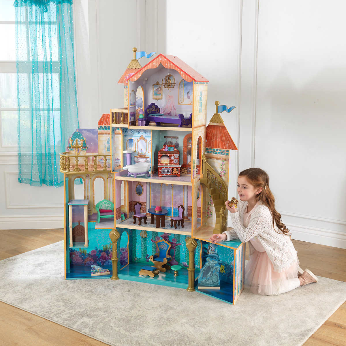 KidKraft Ariel Undersea Kingdom Dollhouse by