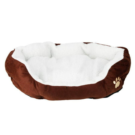 Ktaxon Pet Dog Puppy Cat Soft Fleece Cozy Warm Nest Bed House Cotton Mat Size S M ()