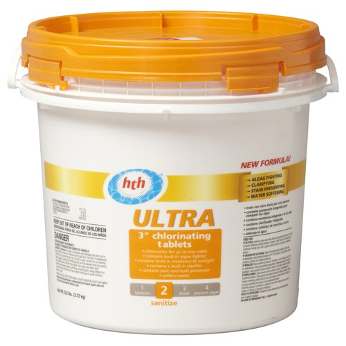 "HTH Ultra 3"" Chlorinating Tablets, 8.2 lb"