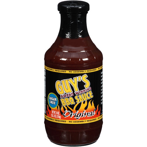 Guy's Award Winning Sugar Free Original BBQ Sauce, 18 oz