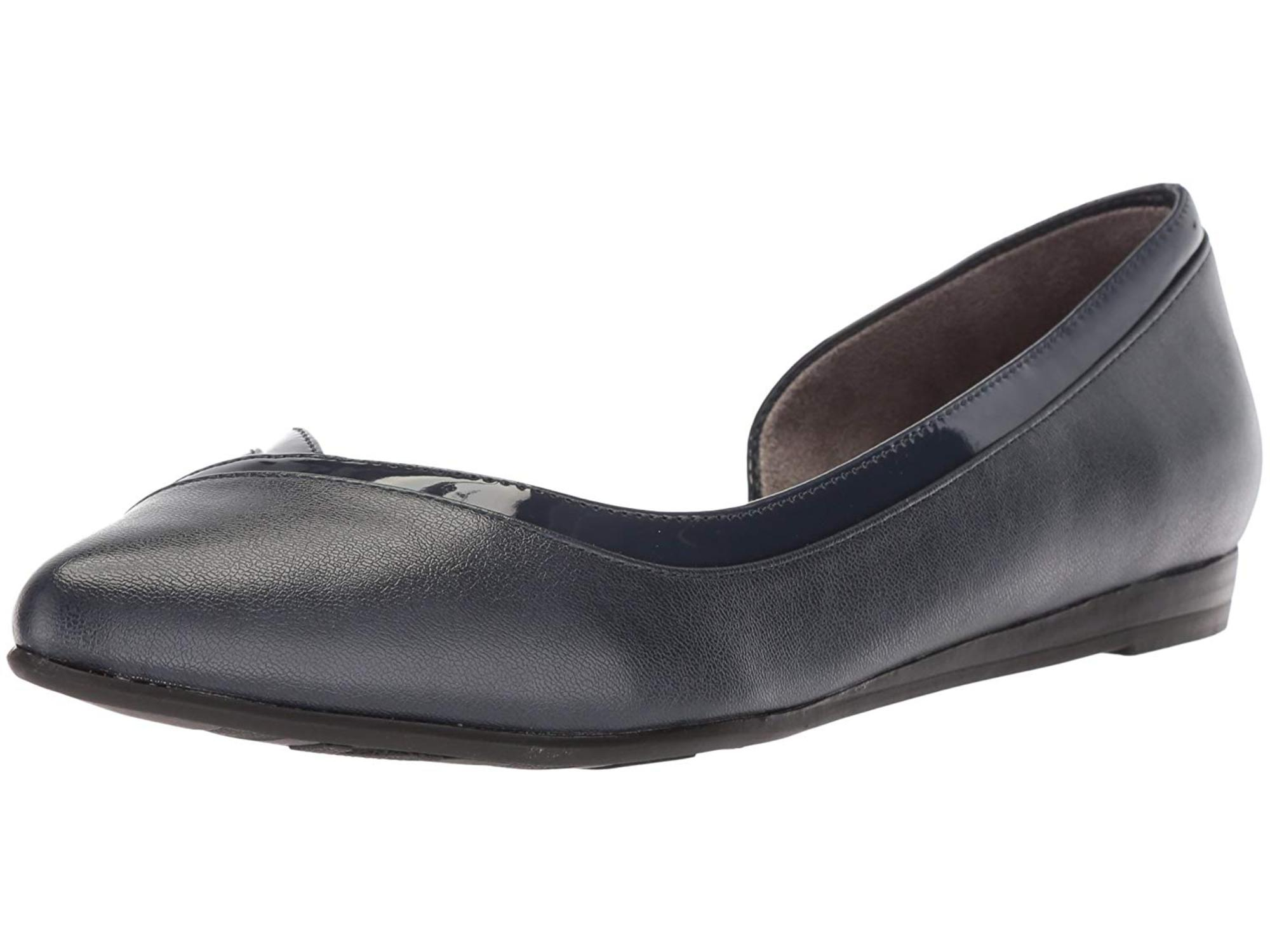 43ecb5dde1a3 Lifestride Womens Quemela Closed Toe Slide Flats