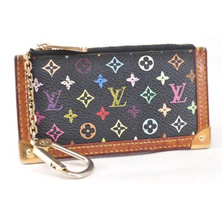 023e2cd3e41e Louis Vuitton - Monogram Multicolor Pochette Key Cles Pouch 866802 ...