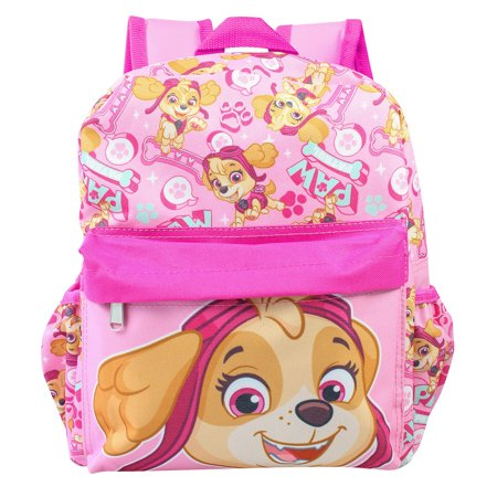 "Paw Patrol Allover Print Skye 12"" Girls Small Backpack"