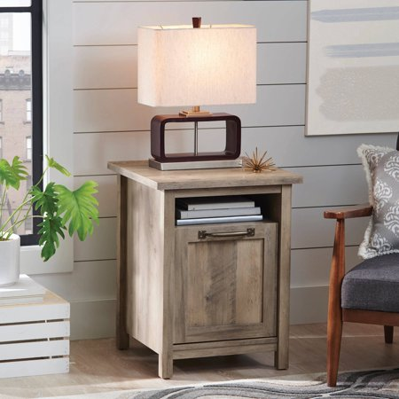 Better Homes And Gardens Modern Farmhouse Side Table Rustic Gray Finish Best End Tables
