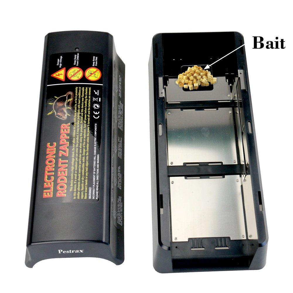 Electronic Mouse Trap Used For Rats Mice Humane Electric Rat Killer Pestrax