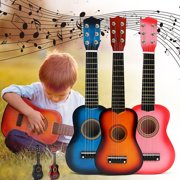 Kids Guitar Toy Mini Classical Ukuleles for Beginners kids, Child ukulele, 6 Strings Kids Musical Instruments, Guitar acoustic Kids Toy Guitars, Toddler Musical Instruments (21 Inches)