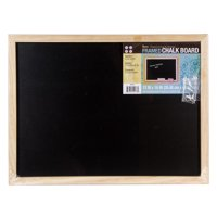 Darice Black Chalkboard with Unfinished Wood Frame
