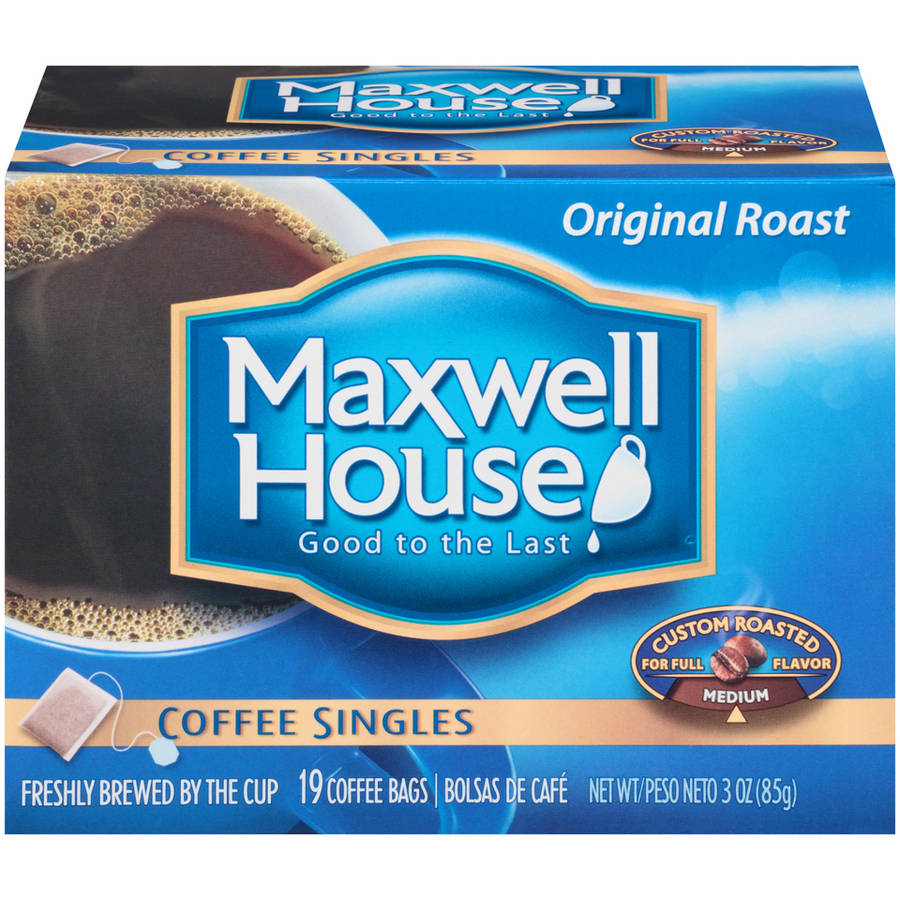 Maxwell House Original Roast Coffee Singles 19 ct Box