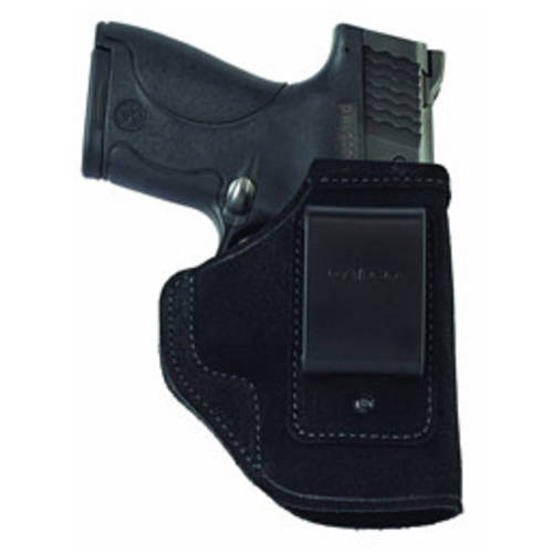 """Galco Stow-N-Go Inside The Pant Holster, Fits 1911 With3"""" Barrel, Right Hand, Black Leather by Galco"""