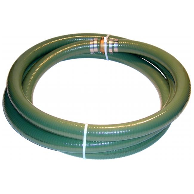 Tigerflex A007-0649-3520 Green PVC Suction hose MalexFemale - CXE camlocks