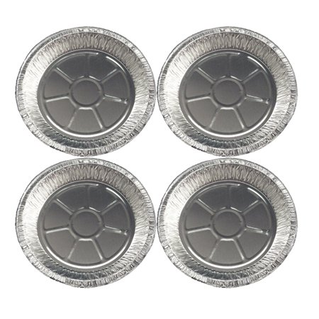 Set of 4 Durable Foil Large Pie Pan 9-5/8