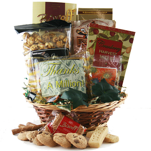 Thank you, Thank you Thank You Gift Basket
