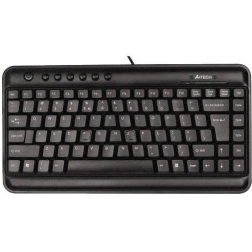 A4tech KL Series KL-5BK Compact Keyboard, Black
