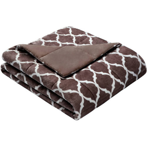 Home Essence Ogee Oversized Down Alternative Throw